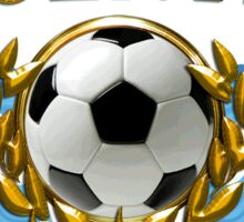 Soccer Flags Argentina Sticker Sticker