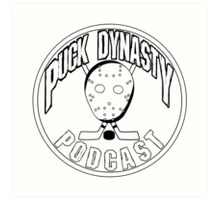 Puck Dynasty Podcast - Logo 2015 Art Print