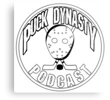 Puck Dynasty Podcast - Logo 2015 Metal Print