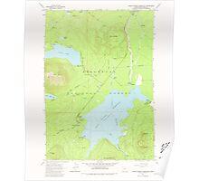 USGS Topo Map Oregon Crane Prairie Reservoir 279497 1963 24000 Poster