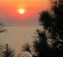 Greek sunset by raniapapak