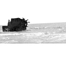 Abandon Ship - Akrotiri, Cyprus Photographic Print