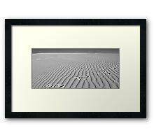 Dune Lines Framed Print