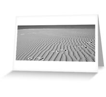 Dune Lines Greeting Card