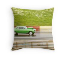 Burning Road Throw Pillow