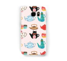 Tea Time Samsung Galaxy Case/Skin