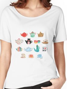 Tea Time Women's Relaxed Fit T-Shirt