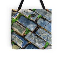 Goodbye Yellow Brick Road - Hello Blue Cobblestone Road ©  Tote Bag