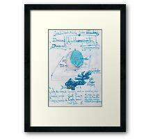 Moon Dial. Framed Print