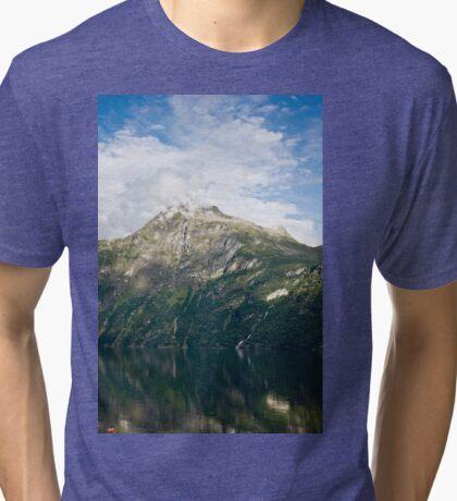 Fuming mountain Tri-blend T-Shirt