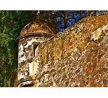 The Wall - Paseo del Morro - Old San Juan Photographic Print