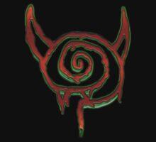 (Dead Trend) Lollipop Vampire logo Kids Tee