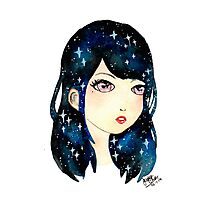 Starry-eyed in space  Photographic Print