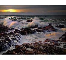 Lights Reflections ~ Oregon Coast ~ Photographic Print