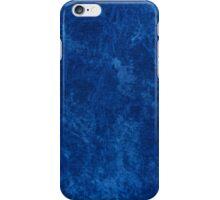 navy blue grunge cloth sheet  iPhone Case/Skin