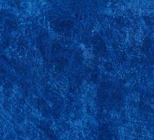 navy blue grunge cloth sheet  by Arletta Cwalina