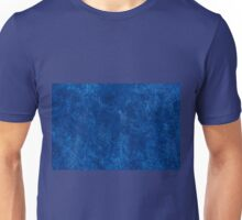 navy blue grunge cloth sheet  Unisex T-Shirt