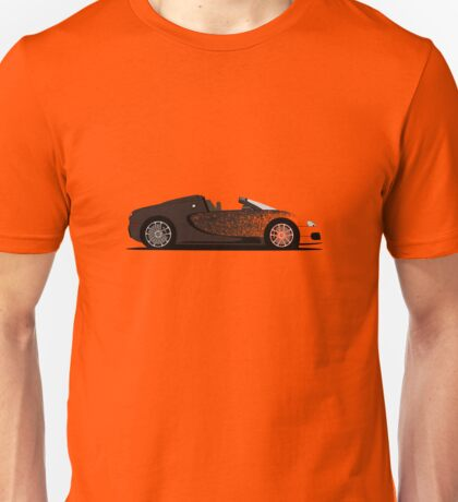2012 Bugatti Veyron Grand Sport Bernar Venet Unisex T-Shirt