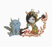 Chibi Enhancement Shaman Kids Tee