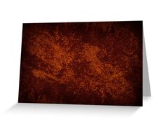 Vintage stained cloth sheet texture  Greeting Card