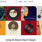 Vinyl - 27 August 2011 by The RedBubble Homepage