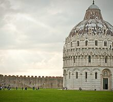 Baptistry of St. John in Pisa by aMillionWordsCa