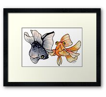 Goldfishes Framed Print