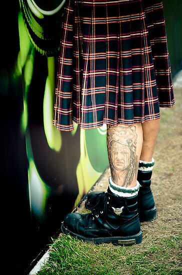 Only Real Men Wear Kilts by Johanne Brunet