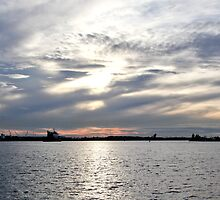 Newcastle Harbour by RGA Photography