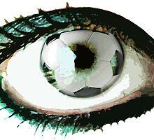 Eye For Soccer Football Sticker by ukedward