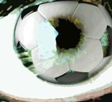 Eye For Soccer Football Sticker Sticker