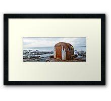 Pump House Newcastle Baths Framed Print