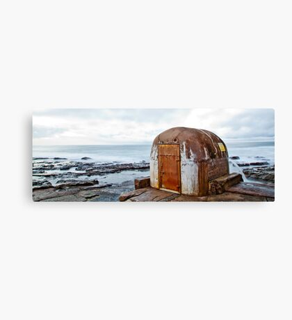 Pump House Newcastle Baths Canvas Print
