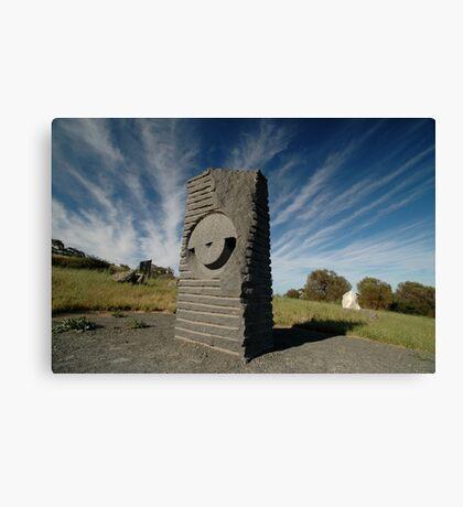 Key Hole Sculpture @ Sculpture Park, Barossa Valley Canvas Print