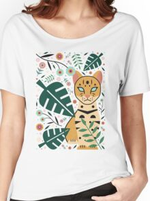 Ocelot Cub Women's Relaxed Fit T-Shirt
