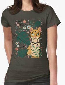 Ocelot Cub Womens Fitted T-Shirt