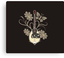 Greek Bouzouki Canvas Print