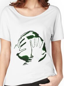 World In Our Hands Women's Relaxed Fit T-Shirt
