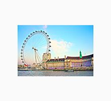 County Hall And London Eye Unisex T-Shirt