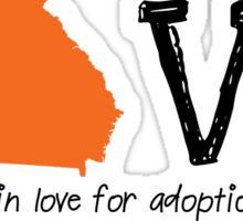 Love: Domestic Adoption Sticker