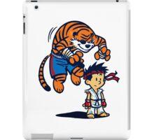 Street Fighter Calvin & Hobbes iPad Case/Skin