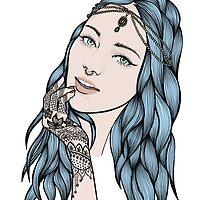 Beautiful Blue by Annie Yates