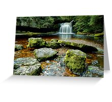 Cauldron Falls Greeting Card