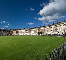 The Royal Crescent, Bath, England by Ann Garrett