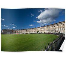 The Royal Crescent, Bath, England Poster