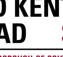 Old Kent Road London Road Sign Sticker