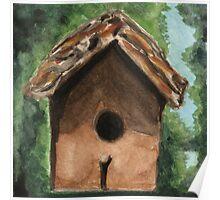 Tallac Birdhouse 3 Poster