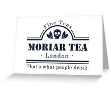 MoriarTea Greeting Card