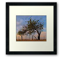 Western Sunrise - Sherman, Texas, USA Framed Print