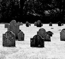 South Street Cemetery Hyannis, Massachusetts USA by Jonathan  Green